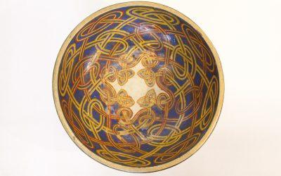 New podcast alert:  George Bain Celtic-design bowl