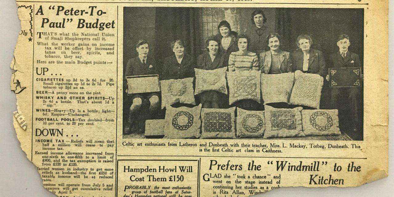Celtic Art Classes in Caithness